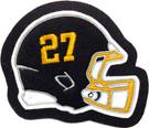 Helmet w/ Jersey Number
