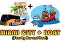 Miami City Tour + Miami Boat Tour Combo