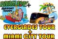 Everglades Tour + Miami City Tour Combo