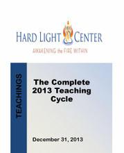 2013 Hard Light Teaching Cycle