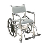 Stainless Steel Rehab Shower Chair Commode-151
