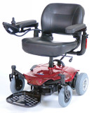 Cobalt Travel Power Wheelchair-398