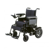 Cirrus Plus Folding Power Wheelchair with Footrest and Batteries-471