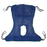 Full Body Patient Lift Sling with Commode Cutout-602