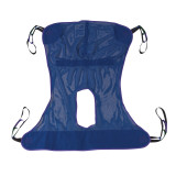 Full Body Patient Lift Sling with Commode Cutout-603