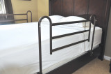 Home Bed Style Adjustable Length Bed Rails-625