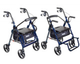 Duet Transport Wheelchair Rollator Walker-699