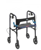"Clever Lite Rollator Walker with 8"" Casters-726"