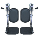 "Elevating Legrests for Sentra EC 16"", 18"" and 20"" Wide Wheelchairs-836"