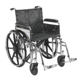 "Sentra Extra Heavy Duty Wheelchair with 20"" wide seat and Various Arm Styles and Front Rigging Options-865"