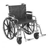 "Sentra Extra Heavy Duty Wheelchair with 22"" wide seat and Various Arm Styles and Front Rigging Options-866"