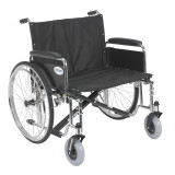 "Sentra EC Heavy Duty Extra Wide Wheelchair with 26"" wide seat and Various Arm Styles Arms-902"