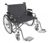 "Sentra EC Heavy Duty Extra Wide Wheelchair with 28"" wide seat and Various Arm Styles Arms-903"
