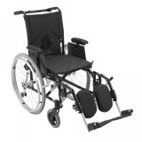 Cougar Ultra Lightweight Rehab Wheelchair with Various Arms Styles and Front Rigging Options-909