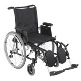 Cougar Ultra Lightweight Rehab Wheelchair with Various Arms Styles and Front Rigging Options-910