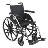 "Viper Wheelchair with 16"" wide seat and Various Flip Back Desk Arm Styles and Front Rigging Options-991"
