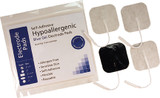 "2"" X 2"" Square Hypo Allergenic Blue Gel Electrodes 4 Per Pack"