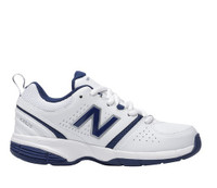 625 WHITE LEATHER LACE UP NEW BALANCE