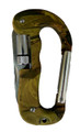 "Carabiner 3.15"" (8cm) Multi tool Flashlight Military"