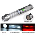 9+16+8 LED Emergency Magnetic Flashlight