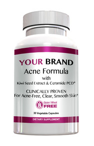 Acne Formula With Ceramide-PCD® & Kiwi Seed Extract 30 Count - Clinically Proven