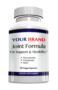 Private Label Supplement Joint Formula Glucosamine Chondroitin MSM