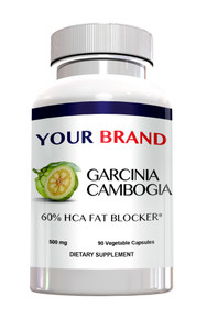 Private Label Supplement Garcinia Cambogia 60% HCA With Potassium