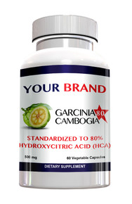 Private Label Supplements Garcinia Cambogia 80% Hydroxycitric Acid