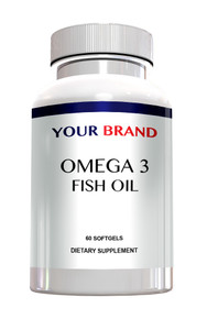 Private Label Supplement Omega 3 Fish Oil