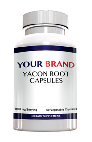 Private Label Supplement Yacon Root Capsules