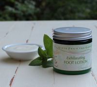 Exhilarating Foot Lotion - Invigorating peppermint wakes up tired feet.
