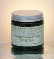 Healing Salt and Flower Bath Tea