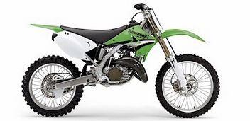 kawasaki kx125 dirt bike parts