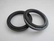 SUZUKI RM125 RM250 RMZ250 RMZ450 FORK DUST SEALS 47mm