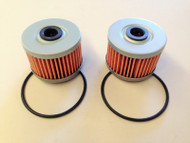 KAWASAKI KX450F OIL FILTERS 2 PACK ATHENA PARTS 2006-2018