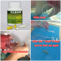 Clear by Aqua Products - Flowerhorn Medicine For White Poop