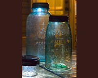 Solar Light In Mason Jar Lid