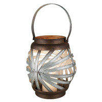 Sunburst Candle Lantern | Large