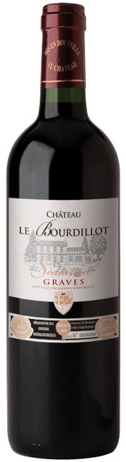 "Chateau le Bourdillot ""Seduction"" Graves AOC 2009"