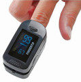 Color Display Finger Pulse Oximeter + Free Carrying Case