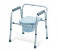 Medline Aluminum Folding 3 in 1 commode