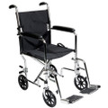 Roscoe Transport Wheelchair w/ Fixed Full Arms