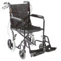 "Roscoe Transport Wheelchair w/ 12"" Rear Wheels"