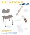 Drive Shower Tub Chair Bathroom Safety Bundle #2