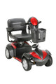 Drive Ventura 4 Wheel Scooter with Folding Seat Red