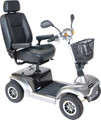Drive Prowler 4-Wheel Mobility Scooter Silver