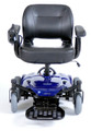 Drive Cobalt Travel Power Wheelchair Blue