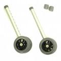 Bariatric Wheel Kit for Invacare Walker