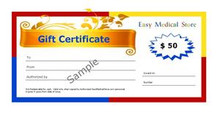 EasyMedicalStore.com $50 Gift Certificate