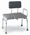 Medline Deluxe Padded Transfer Bench